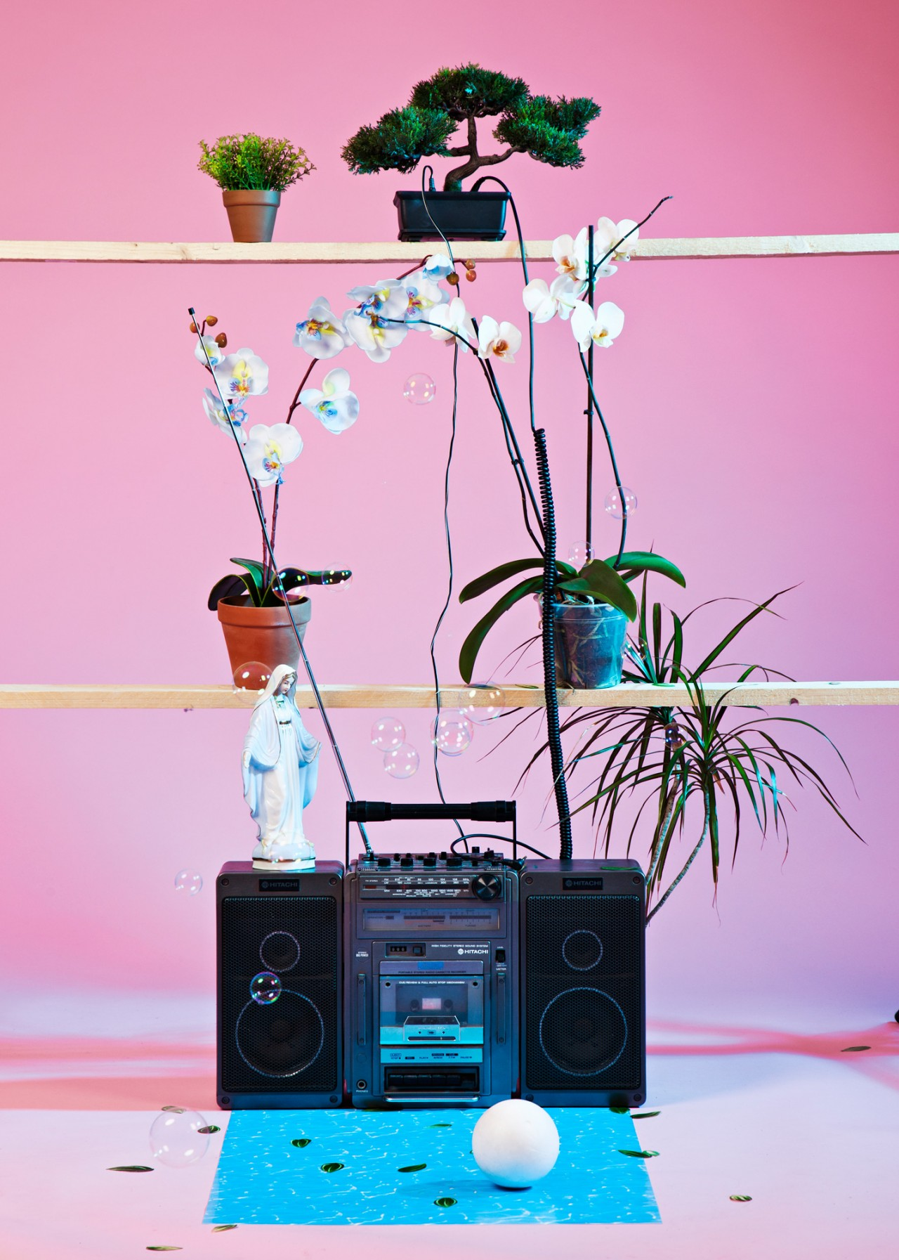 Anna Kiosse Plants and Music / Editorial Photography