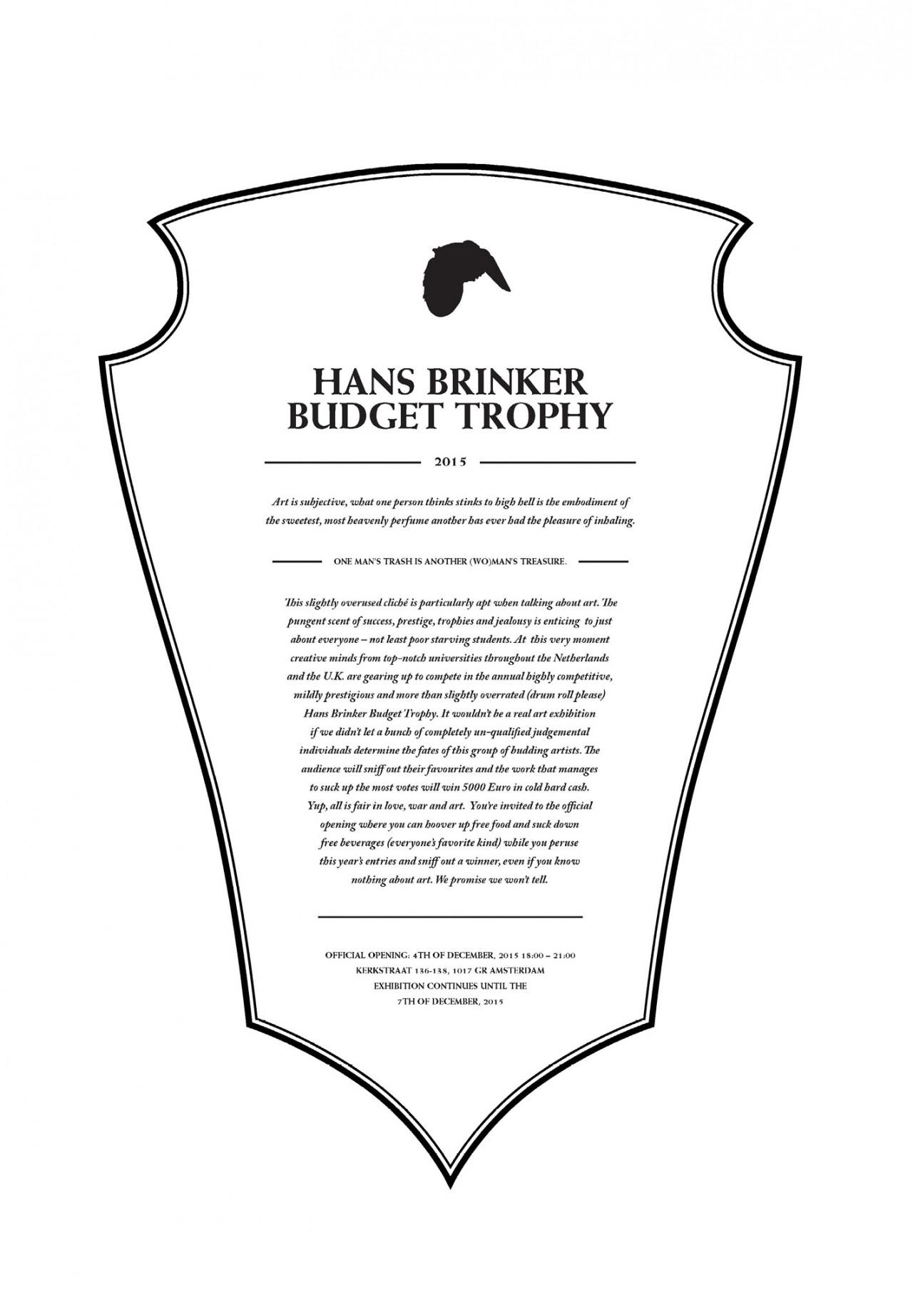 Anna Kiosse Hans Brinker Budget Trophy 2015