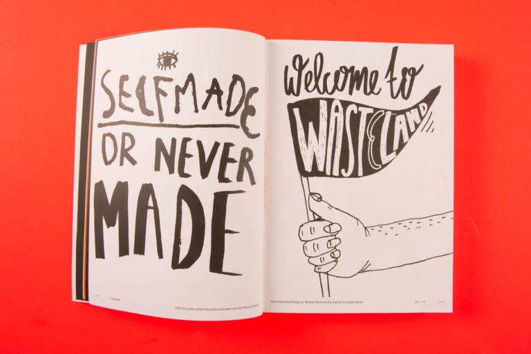 Anna Kiosse Lettering for Magazine MO:DE 9
