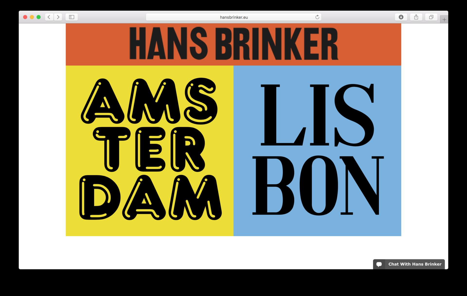 Anna Kiosse Hans Brinker Budget Hotel
