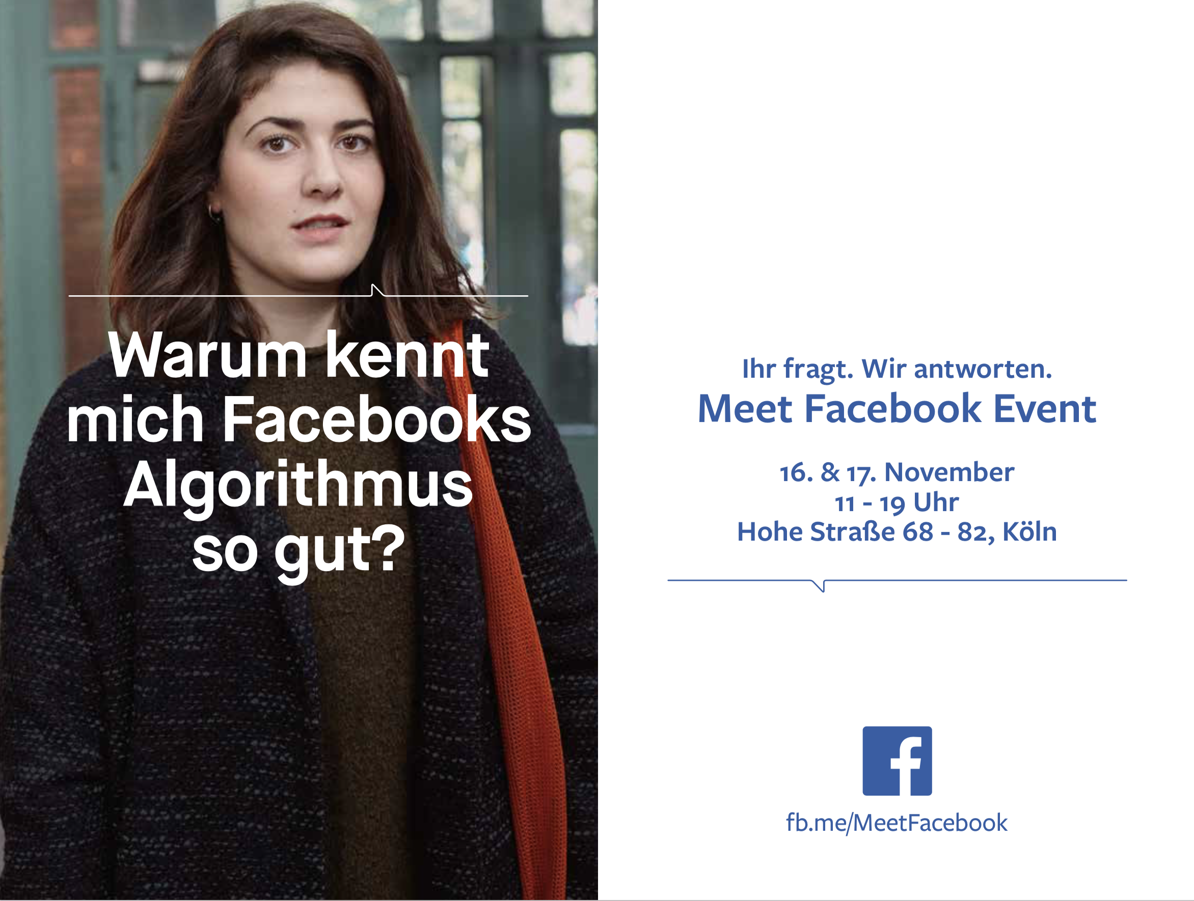 Anna Kiosse Meet Facebook – Event