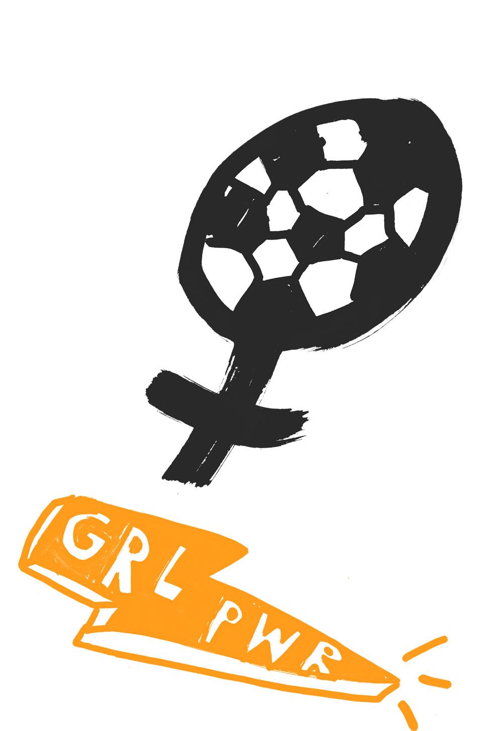 Anna Kiosse Women Soccer -Volkskrant Magazine